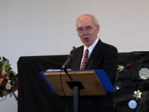 George Henderson gives the Sermon