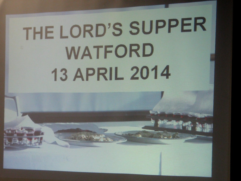 Lord's Supper Powerpoint Screen