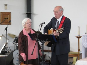 Sue Ann & George singing