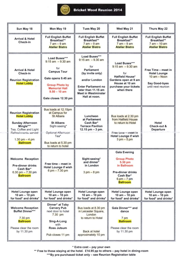REUNION SCHEDULE-small