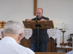 2014-07-19 James Esom gives the Intercessory Prayer