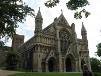 05-St. Albans Visit-St. Albans Abbey or Cathedral