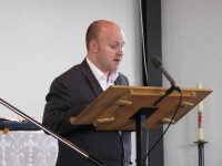 James Esom with Intercessory Prayer