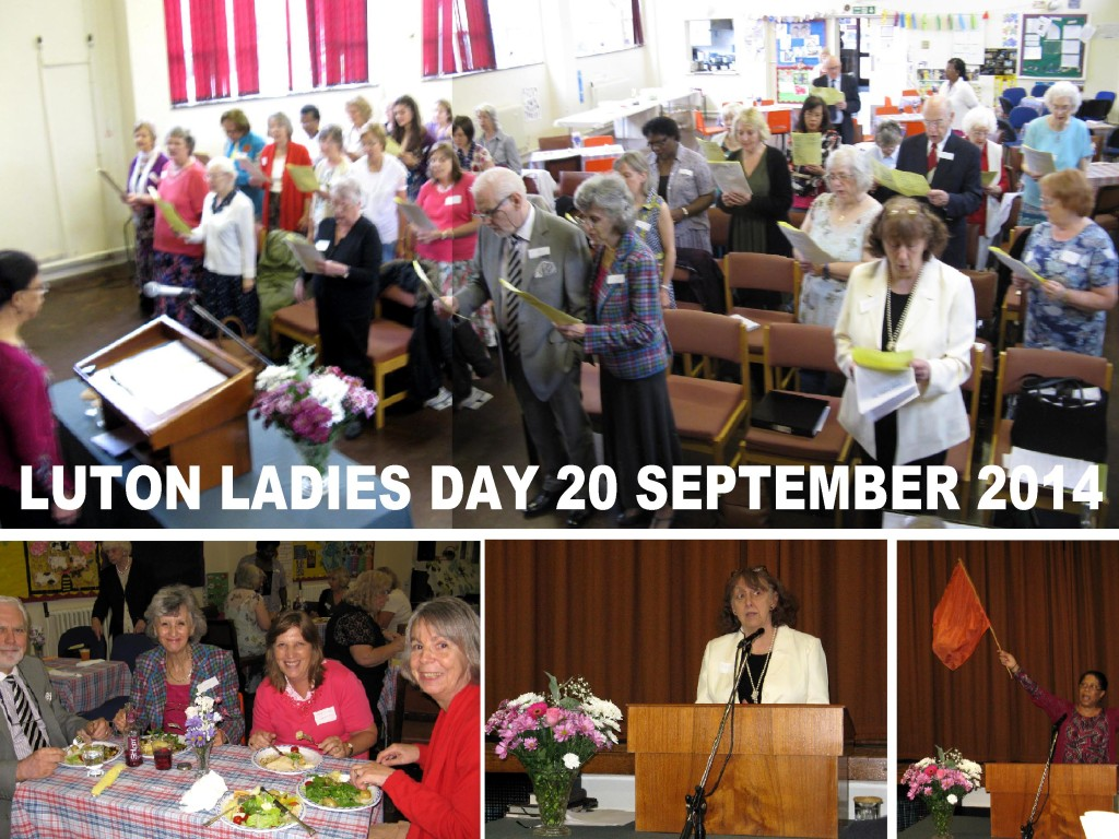 LUTON LADIES DAY COLLAGE 2014