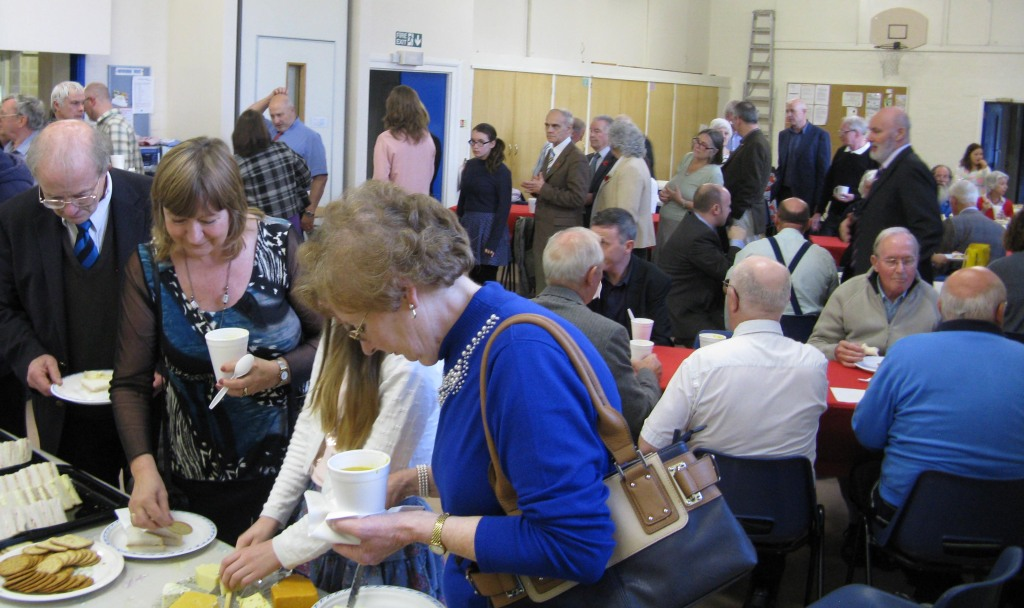 Watford Service 1Nov-lunch after the service.4