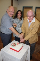 Norwich 40th Anniversary cake cutting