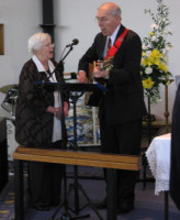 2015-01-03 Sue Ann & George leading worship