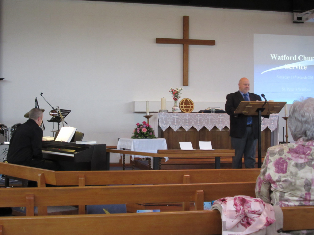 2015-03-14 Phillip Halford leads Hymns