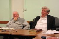 Bricket Wood Bible Study-John Stettaford & David Silcox