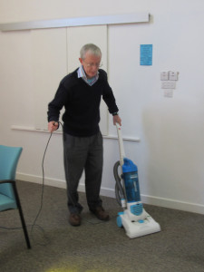 2015-04-18 Peter Beardsmore hoovering
