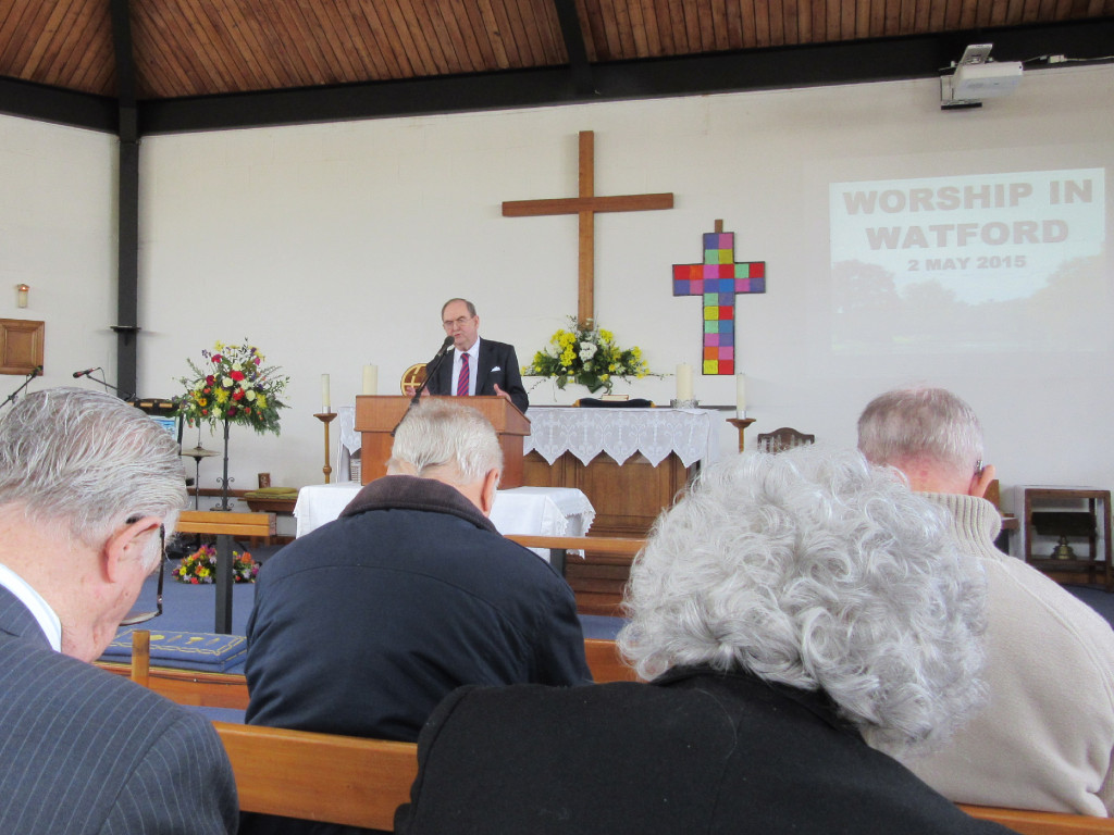 2015-05-02 Mr. Bergin speaking in Watford