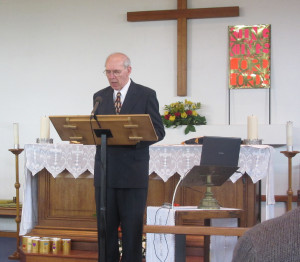 2015-05-23 George Henderson gives Announcements