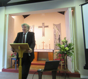 2015-05-24 David Silcox gives the Sermon