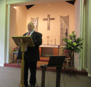 2015-05-24 Phillip Halford with Intercessory Prayer