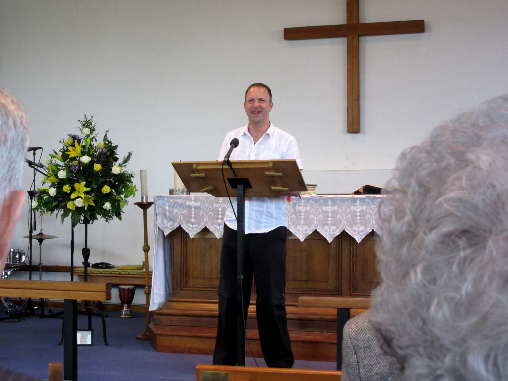 Anthony Dady speaking in Watford 2015-06-13