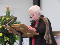 Sue Ann Henderson leads Intercessory Prayer in Watford 2015-06-13