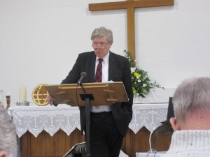 2016-01-02 David Silcox gives the Sermon