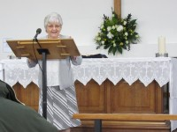 Irene Wilson brings Intercessory Prayer