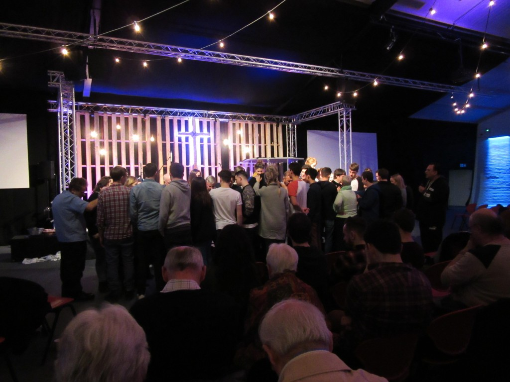Soul Survivor pray a blessing over Church Leaders