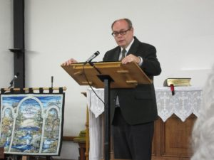 2016-04-16 Barry Robinson gives the Sermon