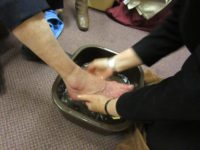 2016-04-21 Lord's Supper-Footwashing