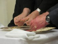 2016-04-21 Lord's Supper-Hands breaking bread