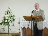 2016-06-25 George Henderson gives Announcements