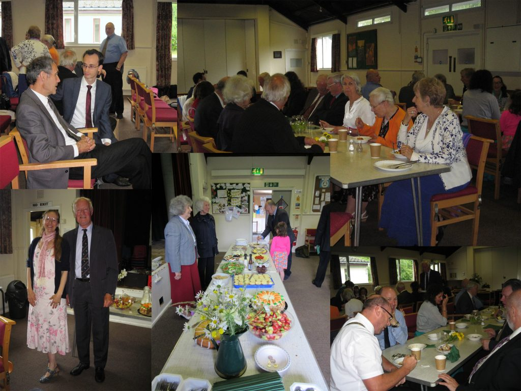Pentecost Buffet Collage