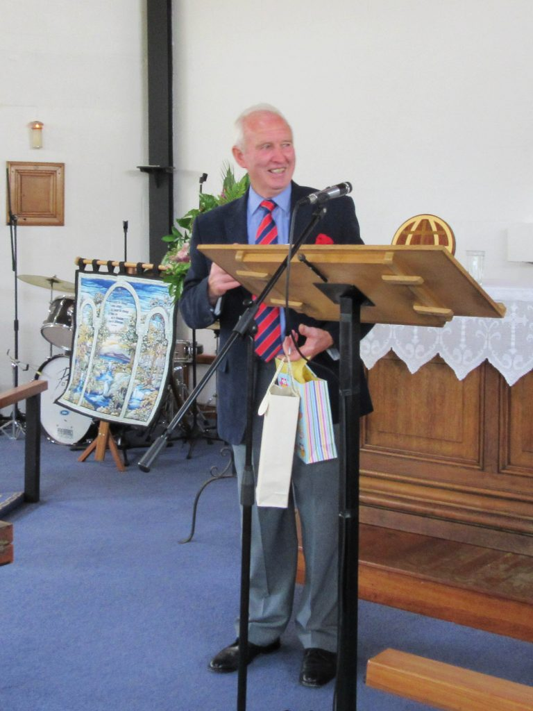 Winston Bothwell honoured for 50th Wedding Anniversary